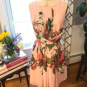 Ted Baker floral cocktail dress